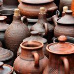 Фото глиняных горшков